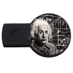 Albert Einstein USB Flash Drive Round (1 GB)