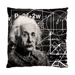 Albert Einstein Standard Cushion Case (Two Sides)