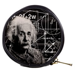 Albert Einstein Mini Makeup Bags