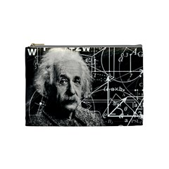 Albert Einstein Cosmetic Bag (Medium)