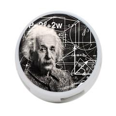 Albert Einstein 4-Port USB Hub (Two Sides)