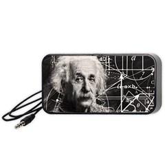 Albert Einstein Portable Speaker (Black)