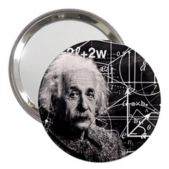 Albert Einstein 3  Handbag Mirrors