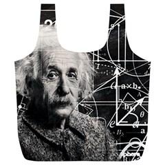 Albert Einstein Full Print Recycle Bags (L)
