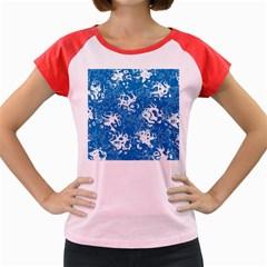 Pattern Women s Cap Sleeve T-Shirt