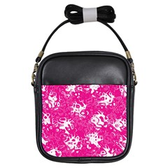 Pattern Girls Sling Bags