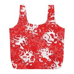 Pattern Full Print Recycle Bags (L)