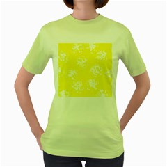 Pattern Women s Green T-Shirt