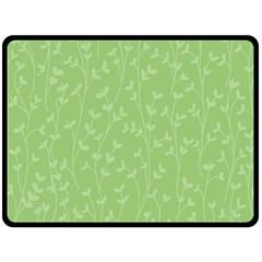 Pattern Double Sided Fleece Blanket (Large)