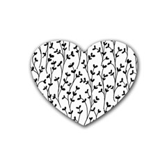 Pattern Heart Coaster (4 pack)