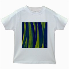 Pattern Kids White T-Shirts