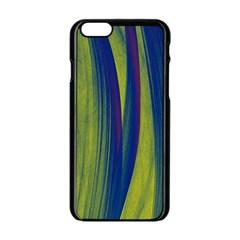 Pattern Apple Iphone 6/6s Black Enamel Case