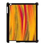 Pattern Apple iPad 3/4 Case (Black) Front