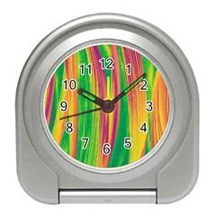 Pattern Travel Alarm Clocks