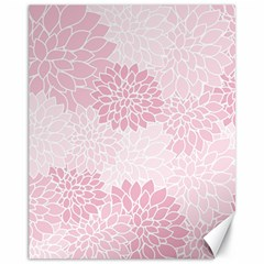 Floral pattern Canvas 11  x 14