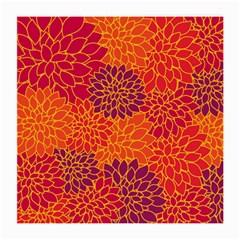 Floral pattern Medium Glasses Cloth (2-Side)