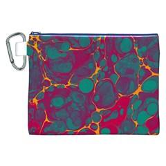 Pattern Canvas Cosmetic Bag (XXL)