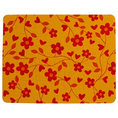 Floral pattern Jigsaw Puzzle Photo Stand (Rectangular)