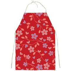 Floral pattern Full Print Aprons