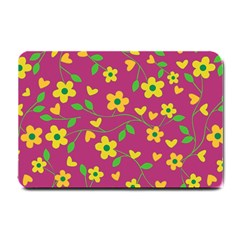 Floral pattern Small Doormat