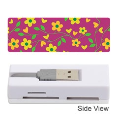 Floral pattern Memory Card Reader (Stick)