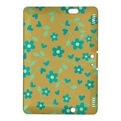 Floral pattern Kindle Fire HDX 8.9  Hardshell Case