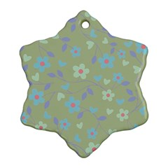 Floral pattern Ornament (Snowflake)
