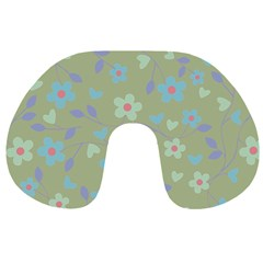 Floral pattern Travel Neck Pillows