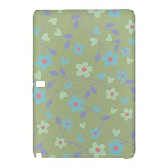 Floral pattern Samsung Galaxy Tab Pro 10.1 Hardshell Case