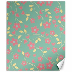 Floral pattern Canvas 20  x 24