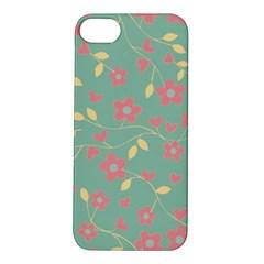 Floral pattern Apple iPhone 5S/ SE Hardshell Case