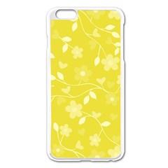 Floral pattern Apple iPhone 6 Plus/6S Plus Enamel White Case