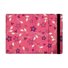 Floral pattern iPad Mini 2 Flip Cases