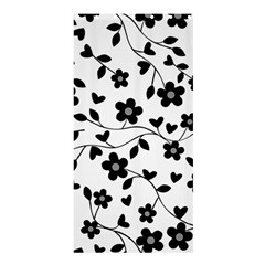 Floral pattern Shower Curtain 36  x 72  (Stall)