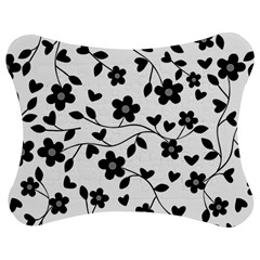 Floral pattern Jigsaw Puzzle Photo Stand (Bow)