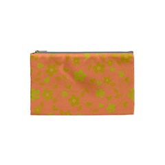 Floral pattern Cosmetic Bag (Small)