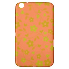 Floral pattern Samsung Galaxy Tab 3 (8 ) T3100 Hardshell Case