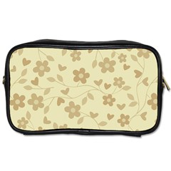Floral pattern Toiletries Bags 2-Side