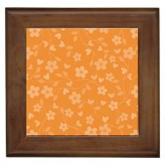 Floral pattern Framed Tiles