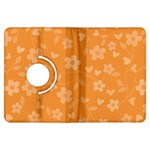 Floral pattern Kindle Fire HDX Flip 360 Case Front