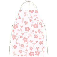 Floral pattern Full Print Aprons