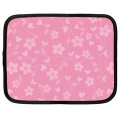 Floral pattern Netbook Case (Large)