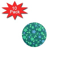 Floral pattern 1  Mini Magnet (10 pack)
