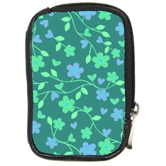 Floral pattern Compact Camera Cases