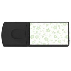Floral pattern USB Flash Drive Rectangular (1 GB)