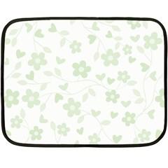 Floral pattern Fleece Blanket (Mini)