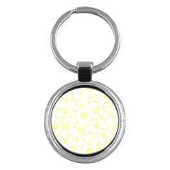 Floral pattern Key Chains (Round)