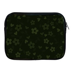 Floral pattern Apple iPad 2/3/4 Zipper Cases