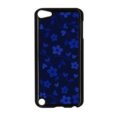 Floral pattern Apple iPod Touch 5 Case (Black)