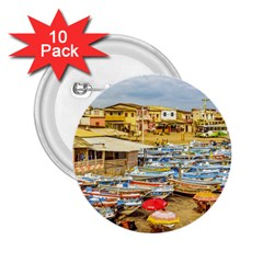 Engabao Beach At Guayas District Ecuador 2.25  Buttons (10 pack)